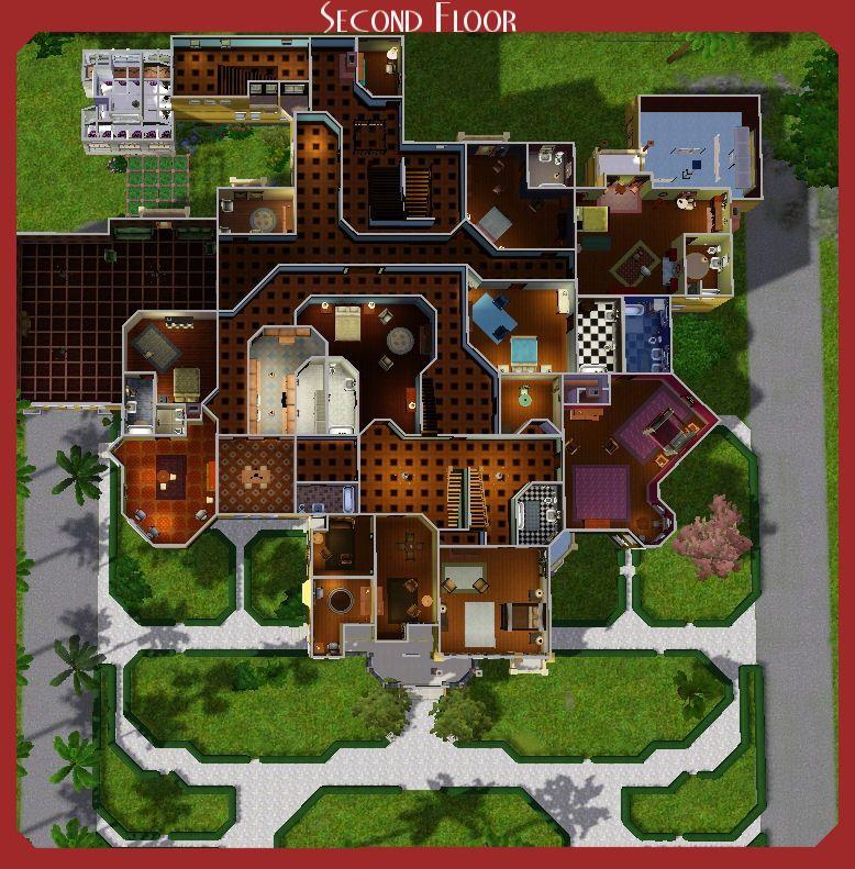 plan de la maison winchester