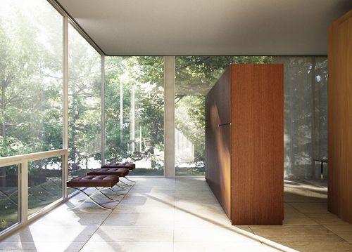 Casa farnsworth history of architecture pinterest - Movimiento moderno ...