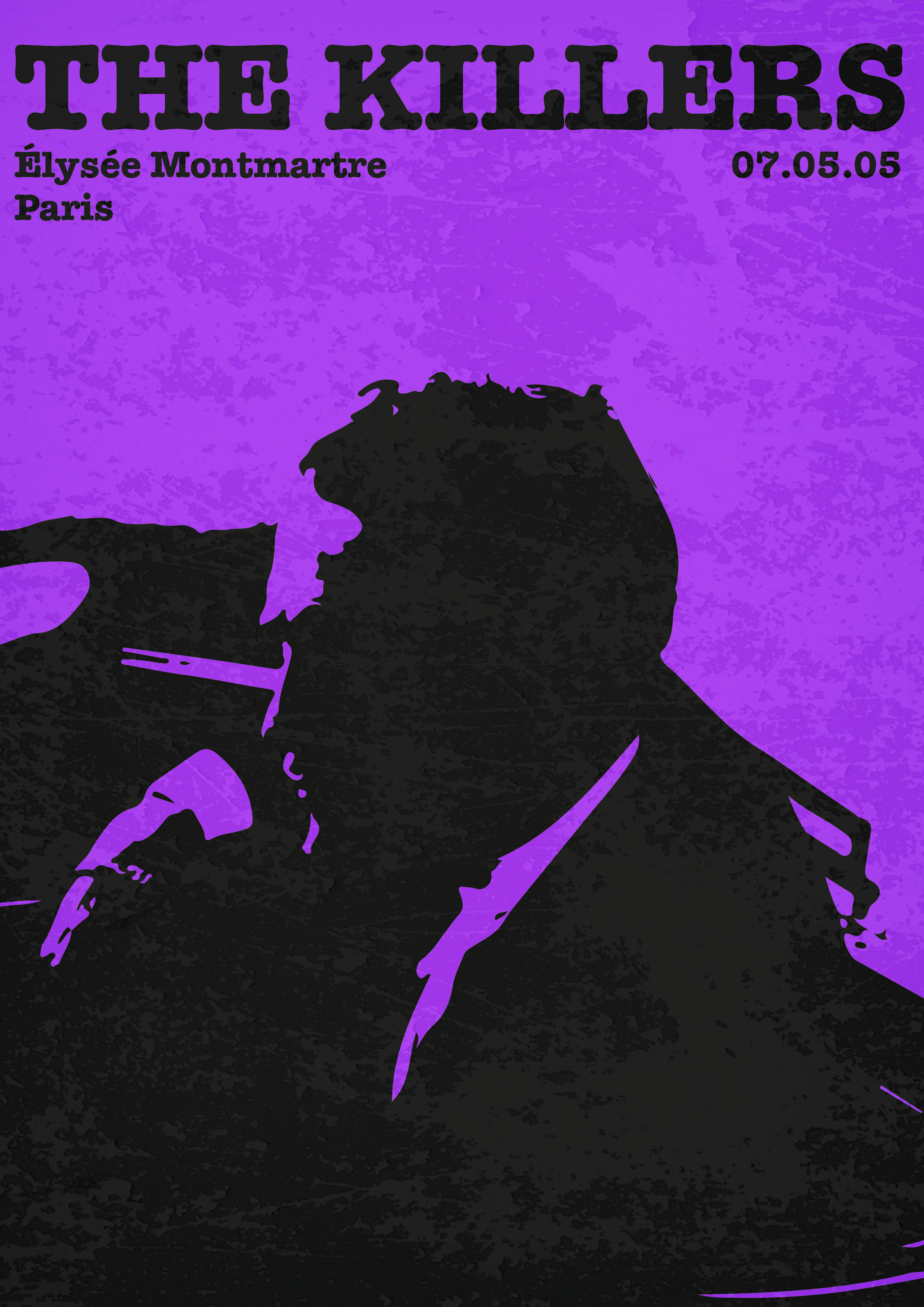 The Killers Music Poster Art Print Concert Poster Music