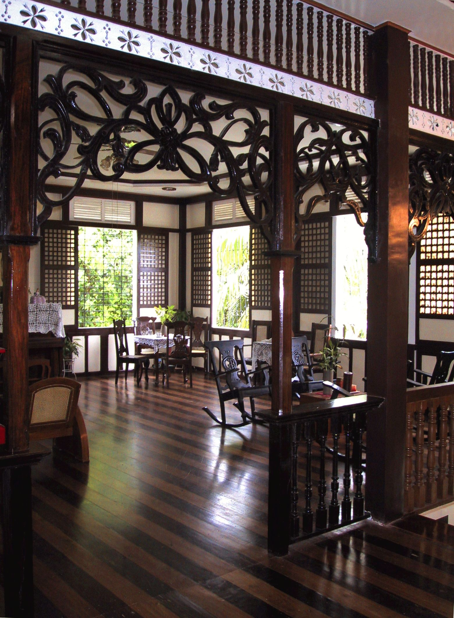 Philippine Architecture, Filipino Architecture, House Design, House Ideas, Chair, Asian