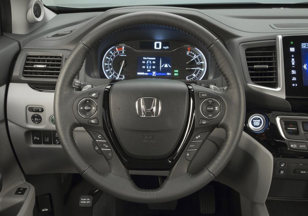 2017 Honda Pilot steering wheel Honda pilot reviews