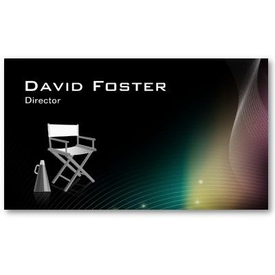 Director in film television theatrical production business card director in film television theatrical production business card template colourmoves