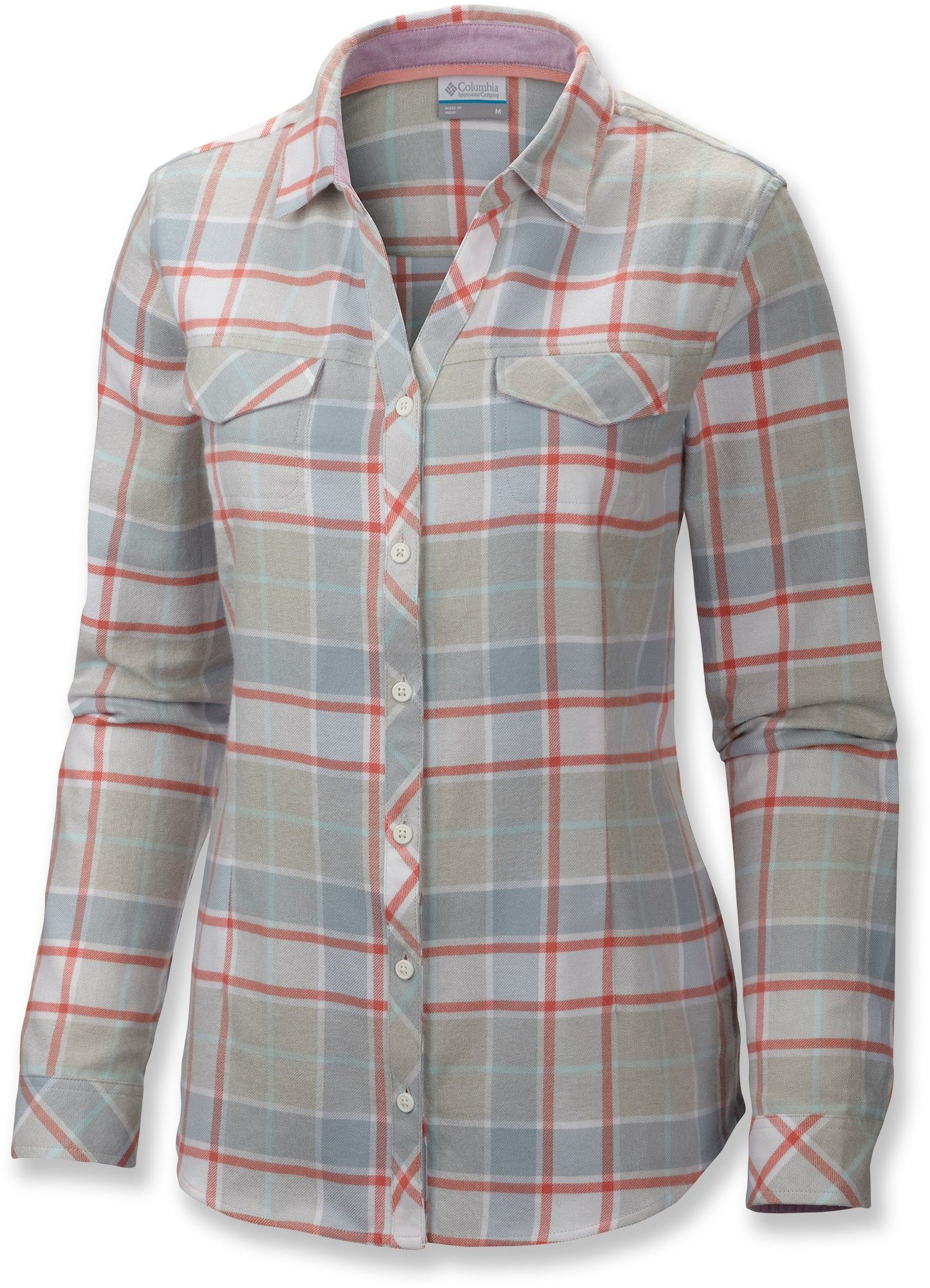 Columbia flannel jacket  Columbia Simply Put II Flannel Shirt  Womenus Plus Sizes  My Style
