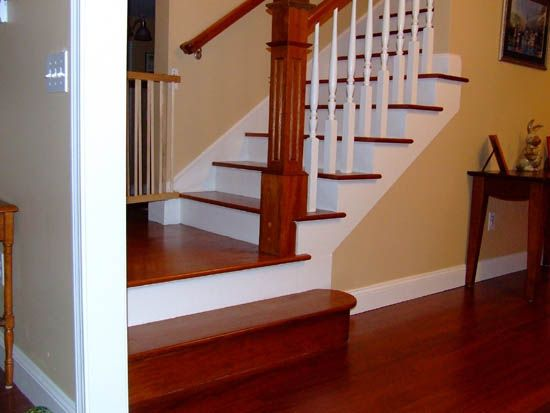 Custom Stairs With Brazilian Cherry Treads Custom Stairs