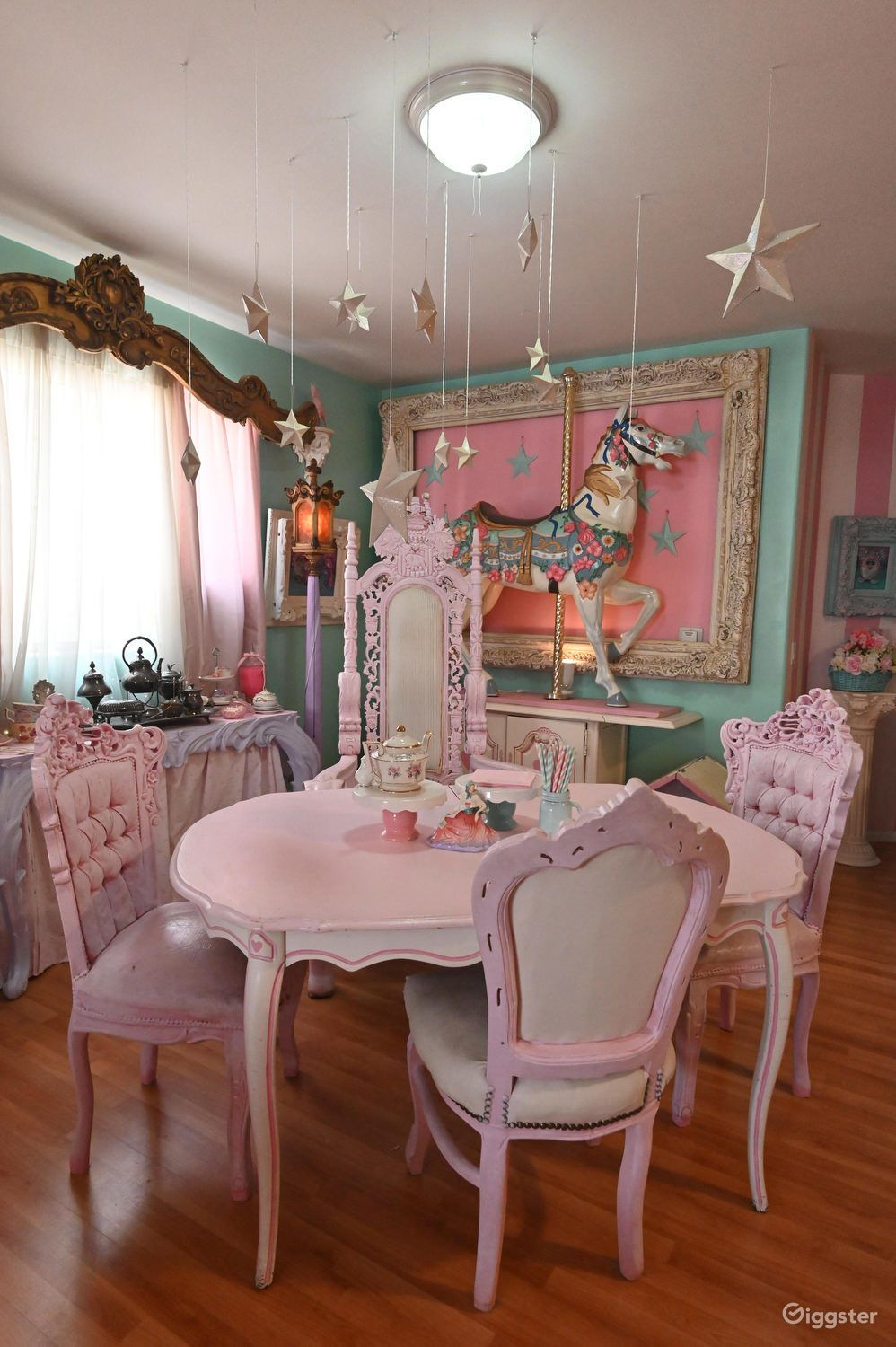 Real Life Doll House In 2020 Beautiful Dining Rooms Kawaii Room