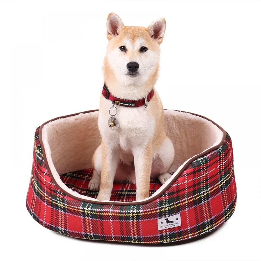 Soft Checkered Bed for Pets  Price: $ 21.32 & FREE Shipping  #dogsofinstaworld #petcat #petshopia #petclothing #dogslife #dogsitting #dogmom #dogscorner #lovecats #kitten #meow #dogphotography #dogwalking #grooming #doggrooming