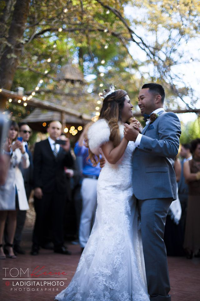 This is what joy looks like!  Congrats to Melissa and Tom!  #LakeArrowhead  #forestwedding