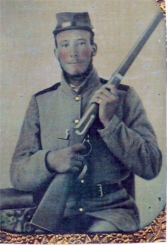 Private David Rufus Pasour of Cherryville, NC served in Company B, 28th NC Infantry Regiment
