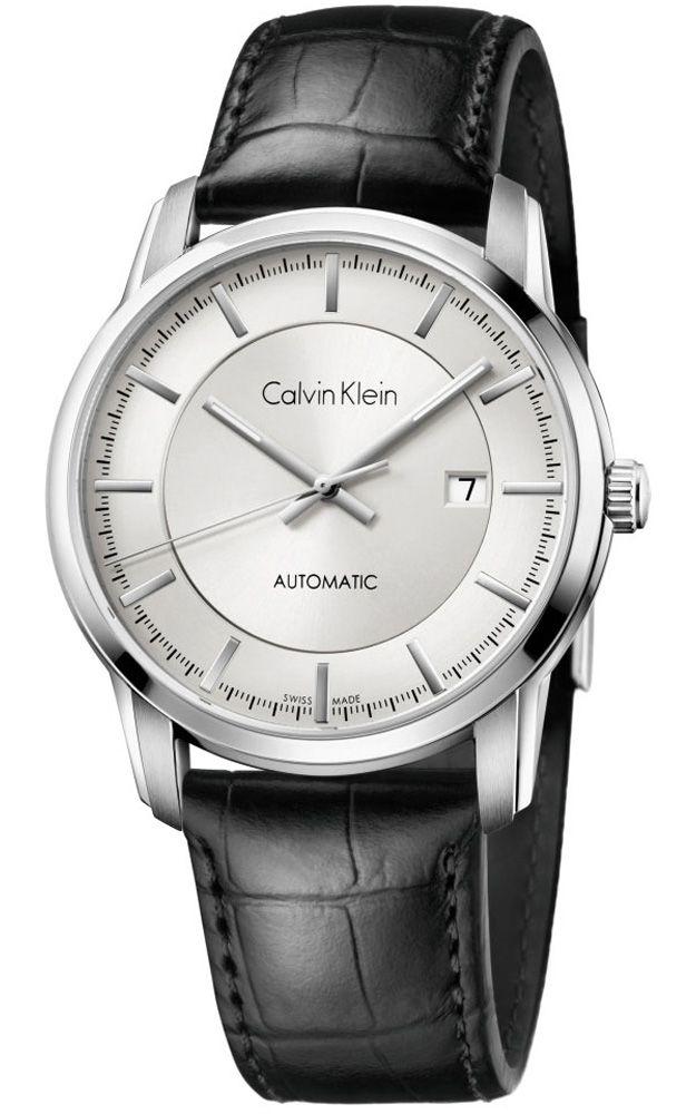 45f2cea896 Calvin Klein Automatic Silver Dial Colour Watch # K5S341C6 (Men Watch) Férfi  Karóra,