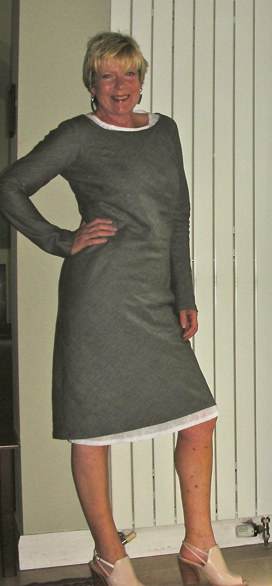 Merchant and mills curlew with under layer diy fashion