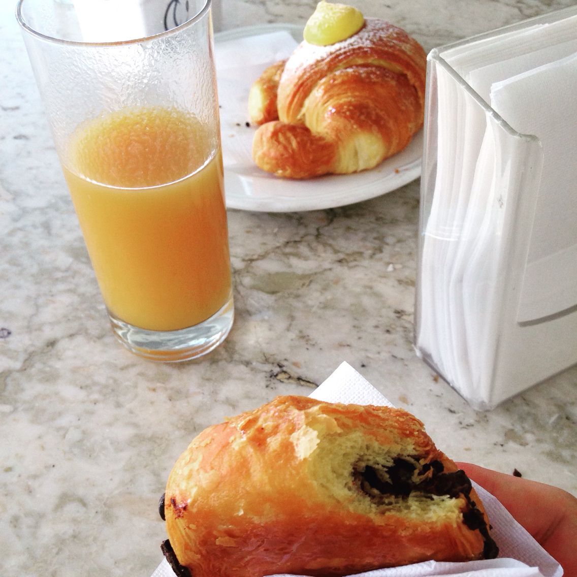 Breakfast  #breakfast #life #delicious #love #bar #relax #kiss #eat #wonderful #fantastic #like #colazione #insieme ✌️