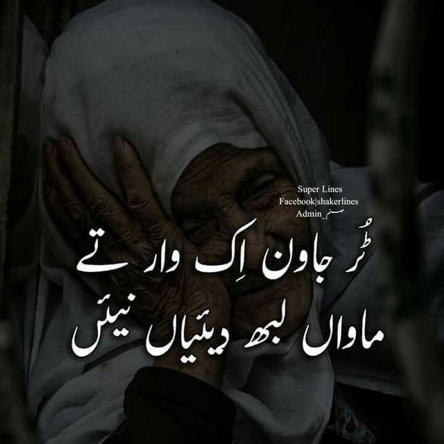 Pin by Abu Bakar Gulzar on Punjabi Poetry   Mother quotes ...