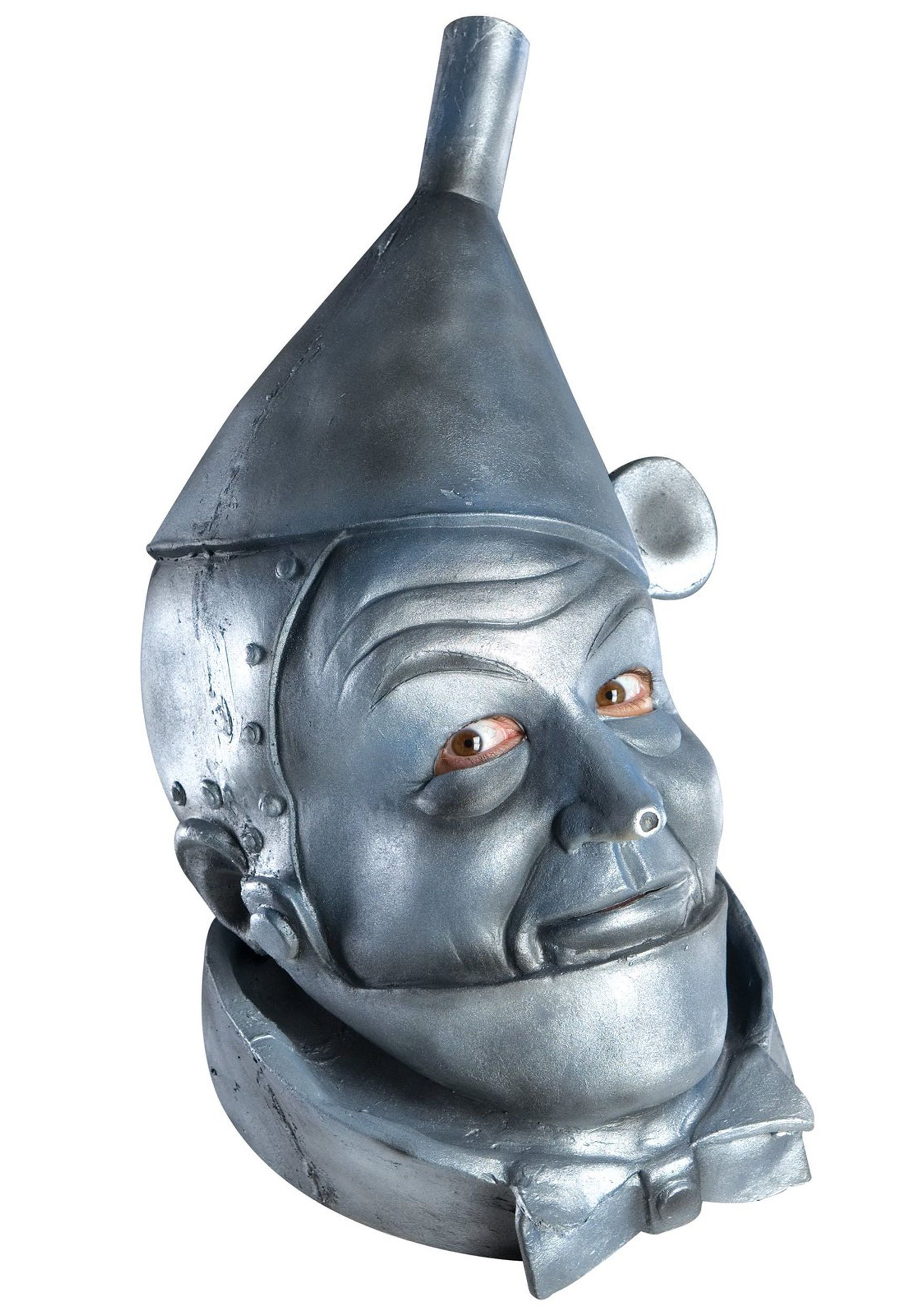 Latex Tin Man Mask | Tin man