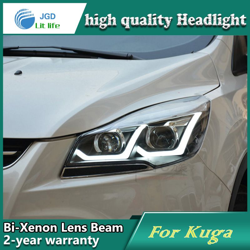 Car Styling Head Lamp Case For Ford Kuga Headlights Led Headlight