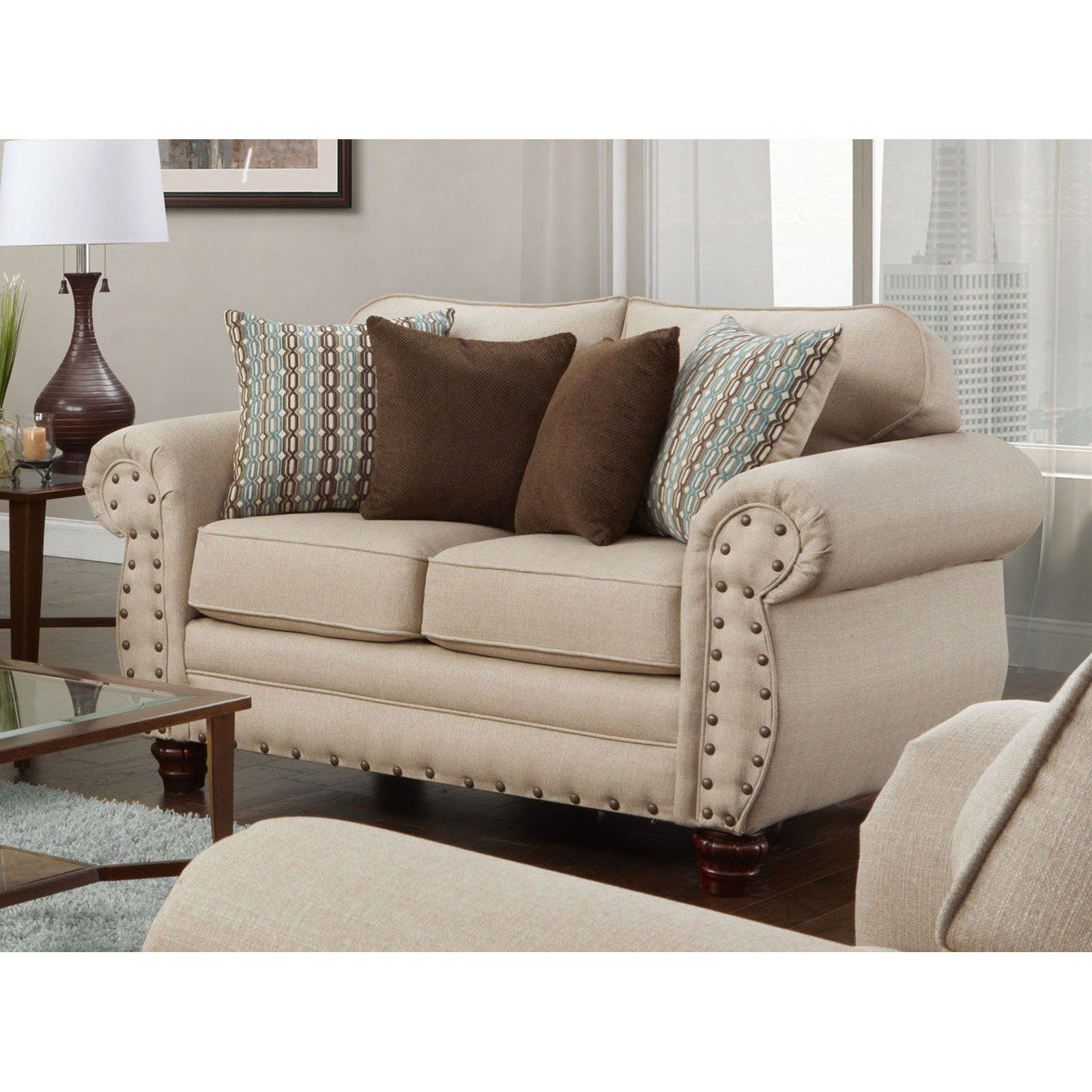 American Furniture Classics Abington Sand Loveseat Furniture