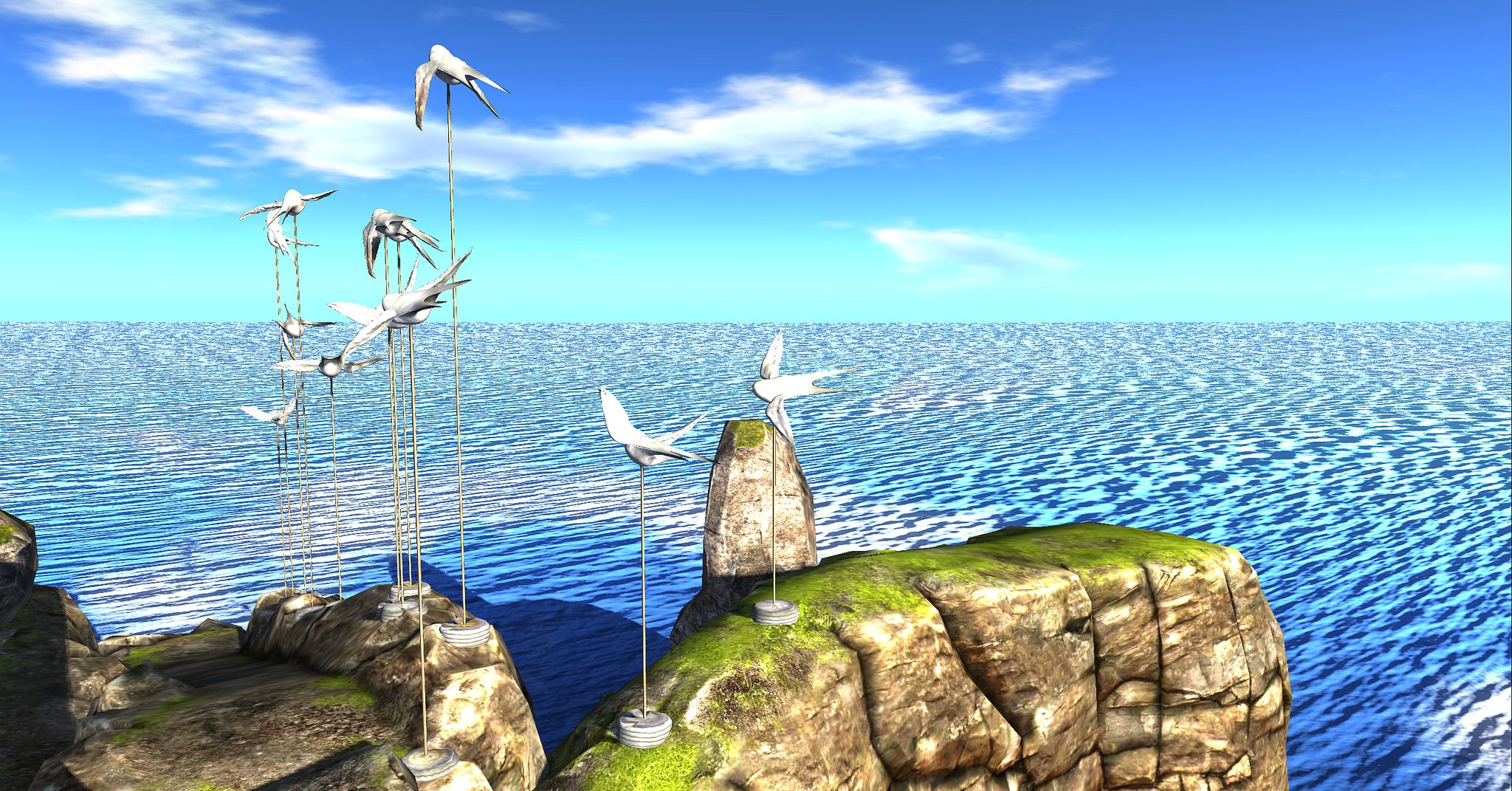 https://flic.kr/p/Fr9LXK   I like... birds   Binemust {A} maps.secondlife.com/secondlife/Binemust/54/109/21  Lyrics from a song, plus a family joke. ;-)  But truly, Bine's redesign  of the sim merits full exploration. Wonderful and whimsical!!