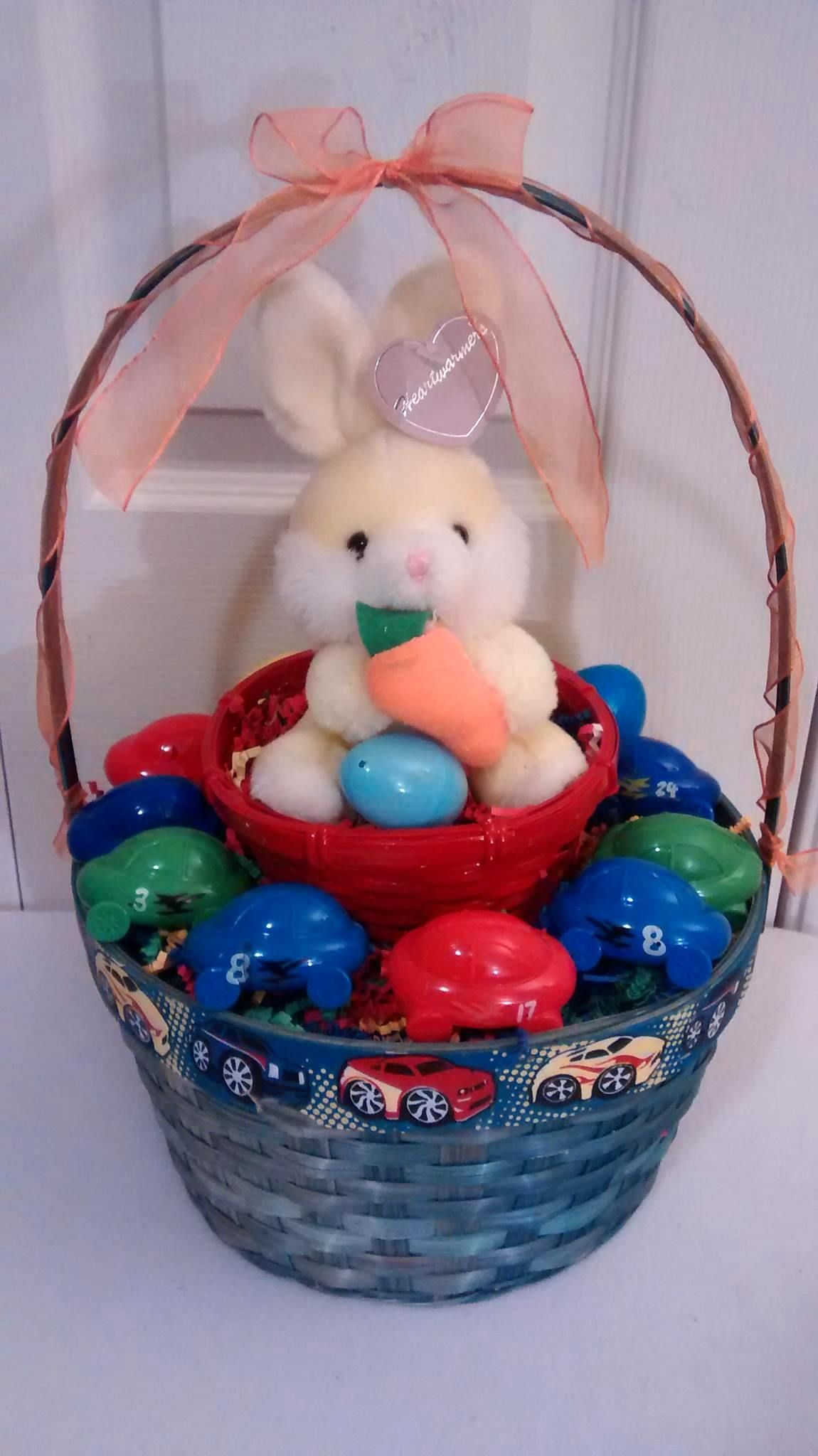 Cars easter bunny gift basket 25 all payments through paypal cars easter bunny gift basket 25 all payments through paypal please message me basket blue negle Choice Image