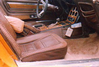 Corvette Leather Interior Custom Leather Automotive Upholstery Corvette