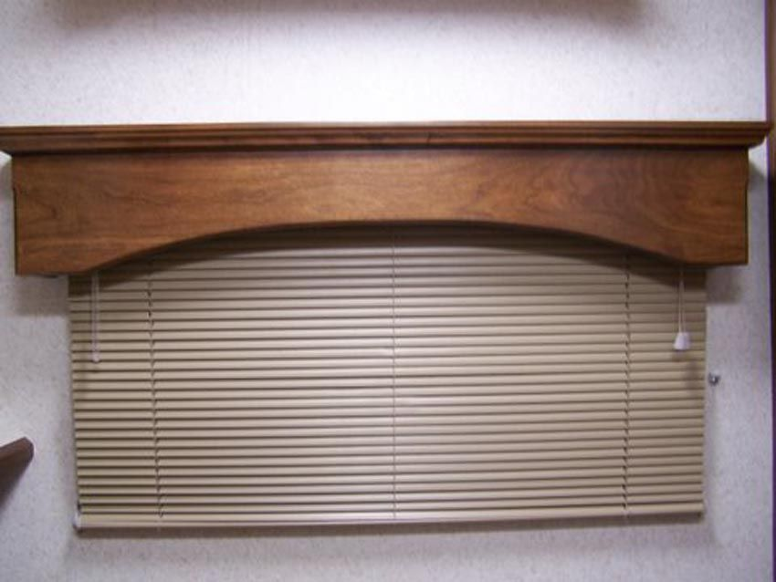 Valances For Windows Our Beautiful Wood And Window Treatments Add A Real Touch Of