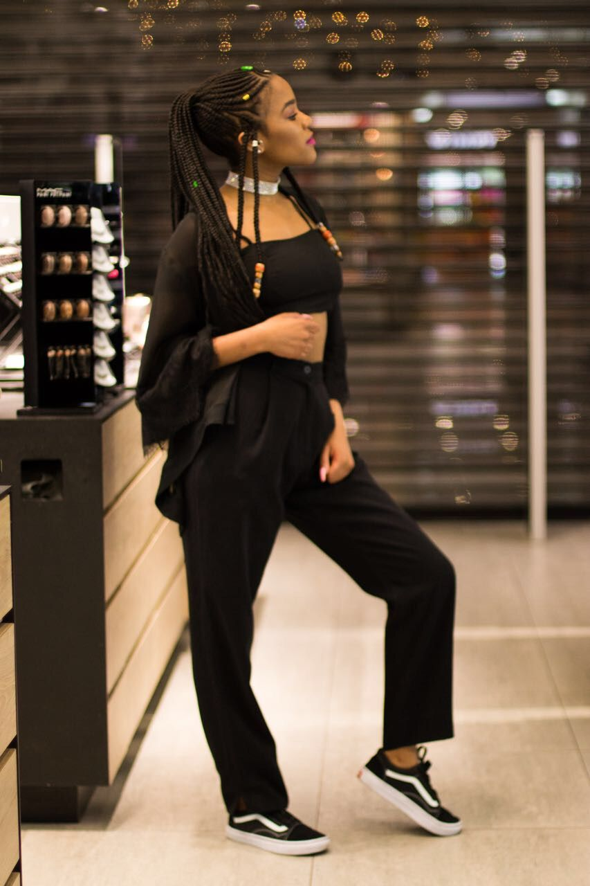 Black Friday Pantsuit, Fashion, How to wear