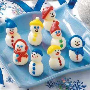 Minty Snowmen