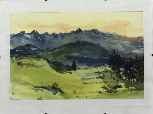 Epingle Par Christian Leroy Sur Pyrenees En Peinture Art Peinture