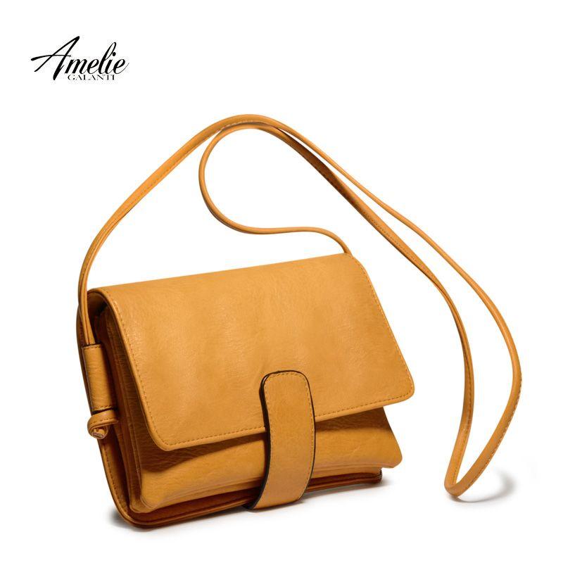 fdb2935a Купить товар AMELIE GALANTI новинка женщины сумку satchels высокое качество  твердые дамы офис сумки на ремне бесплатная доставка 2017 в категории Сумки  на ...