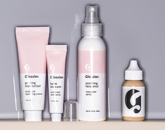 Glossier beauty products
