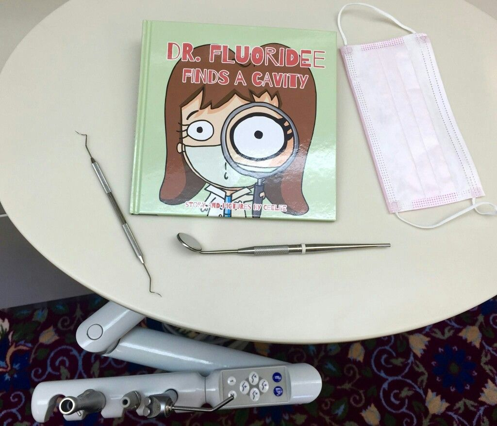 Dr fluoridee finds a cavity book a must have in your