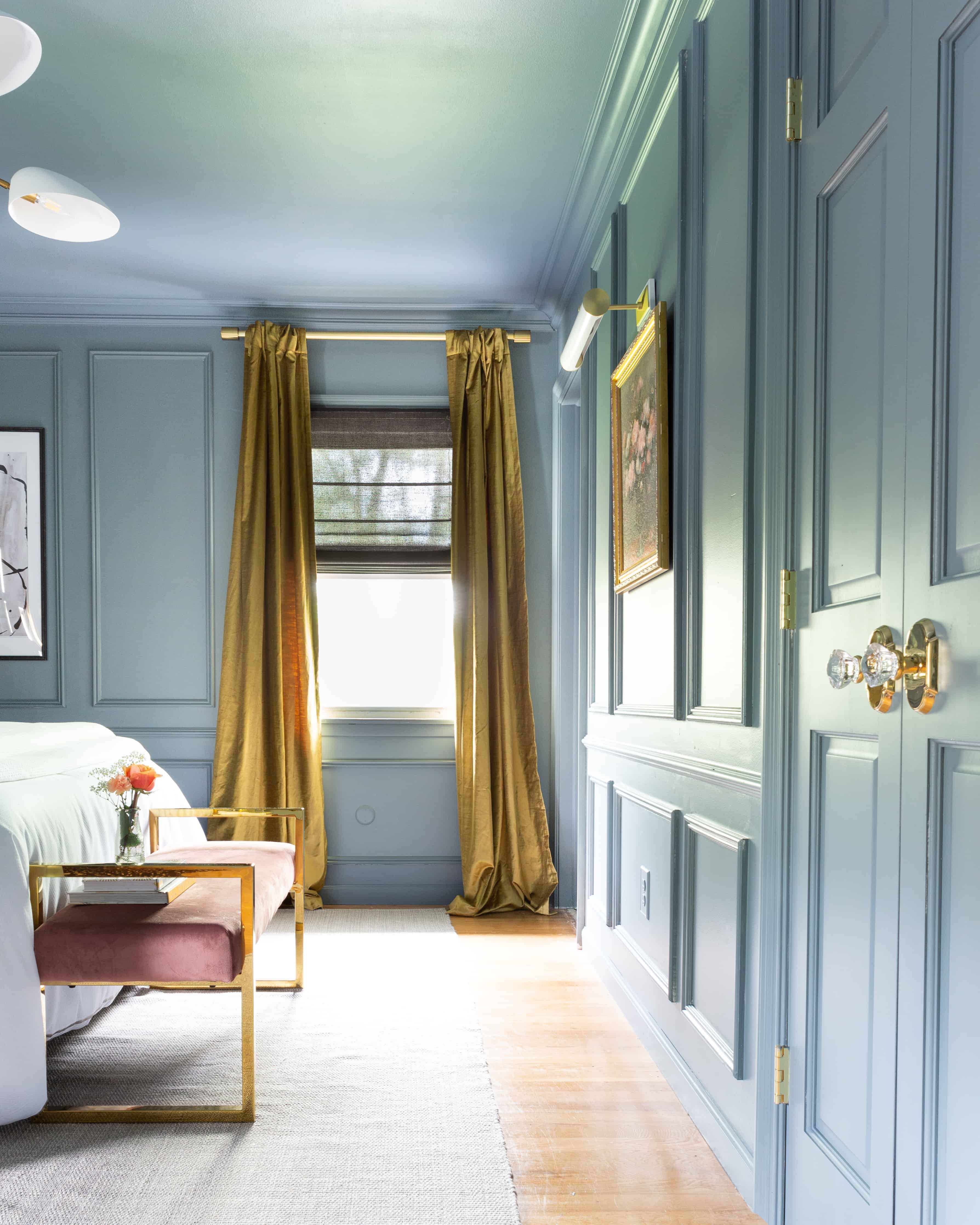 One Room Challenge The Reveal A Modern Traditional Master Bedroom