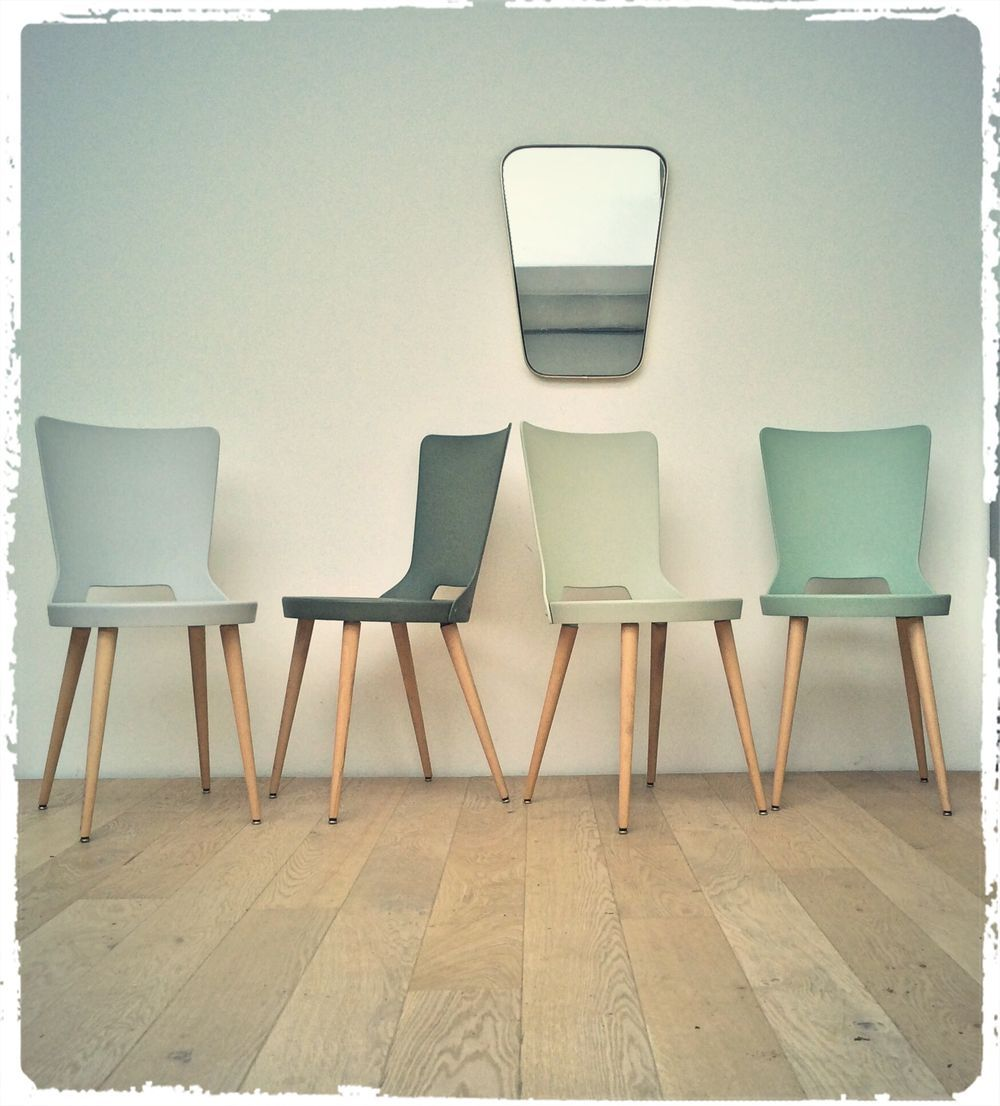 Oompa chaises bistrot vintage baumann dove revisitées