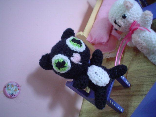 Amigurumi Gato Negro : Gato negro amigurumi amigurumis mios pinterest negro y gato