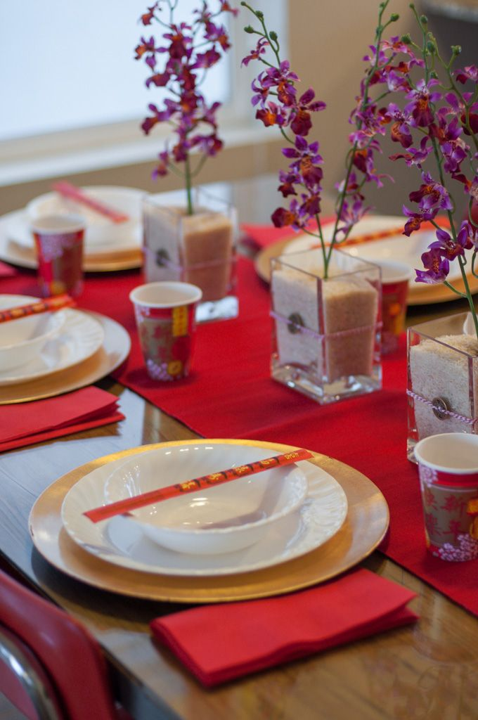 Creatv.ly – Chinese New Year table setting | Chinese New ...