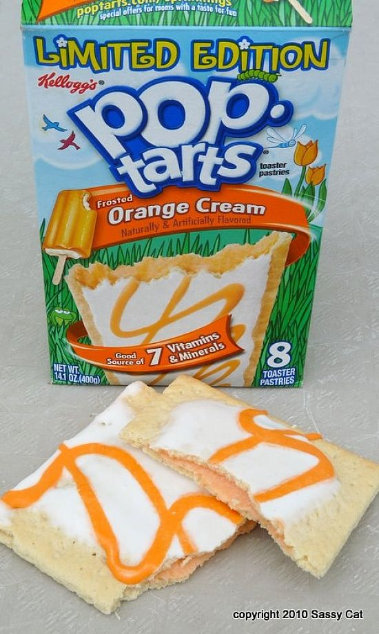 Image result for orange cream pop tarts
