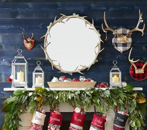 Antler Mirror Pottery Barn Kids Antlers Table Decorations