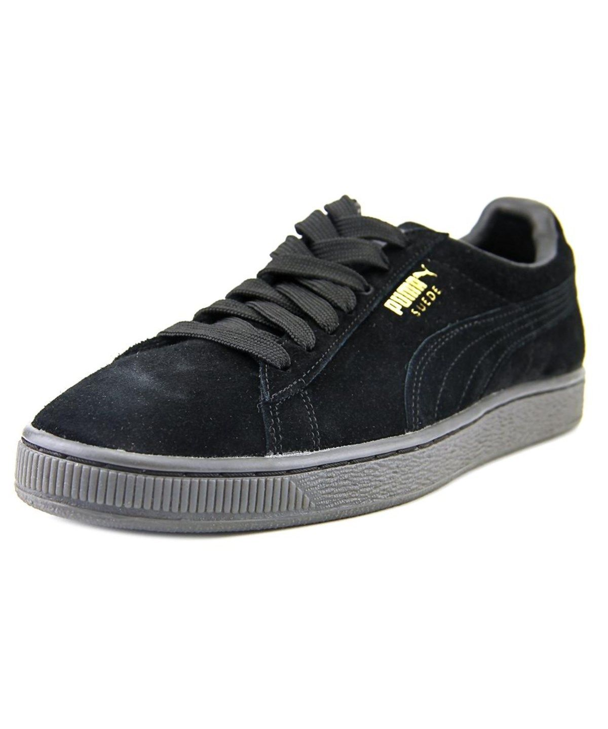 puma puma suede classic mono iced men round toe suede. Black Bedroom Furniture Sets. Home Design Ideas