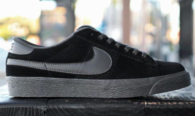 Nike Sb Blazer Baja Negro Niebla Medianoche