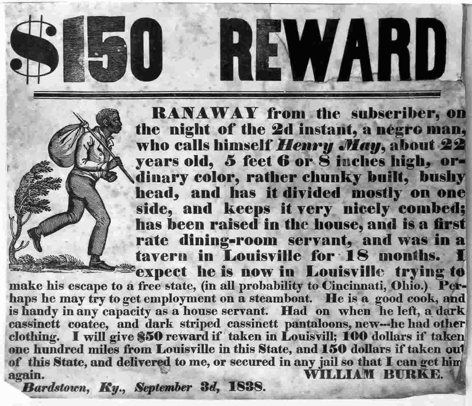 My Latest Article On Things: The Fugitive Slave Act Of 1850, SEC 7 Made It Harder For