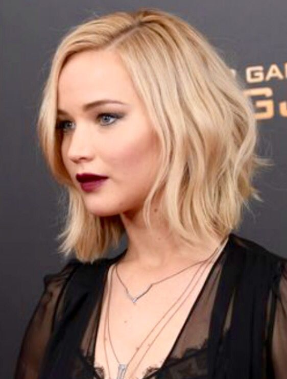 Jennifer Lawrences Long Bob Hair And Beauty Hair Hair Styles