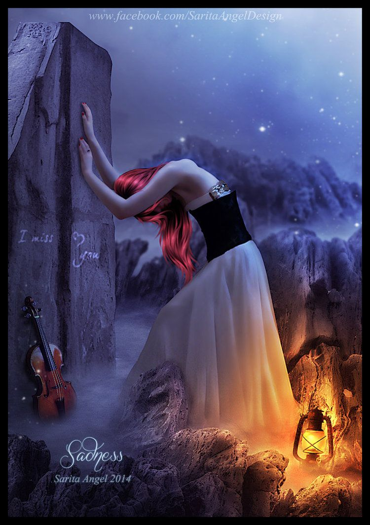 SADNESS by saritaangel07 on DeviantArt ~You carry within you