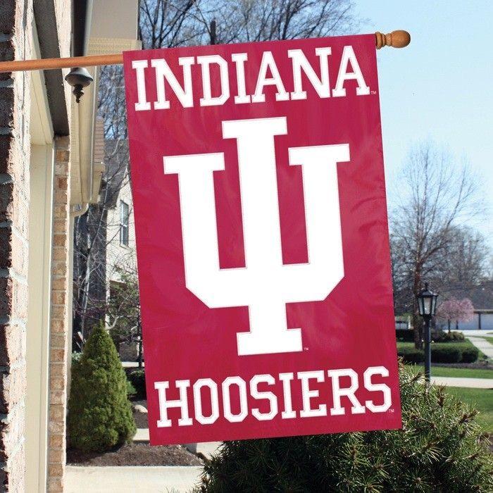 One Size Multicolor NCAA Indiana Car Flag