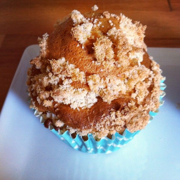 Muffin myrtille/crumble.