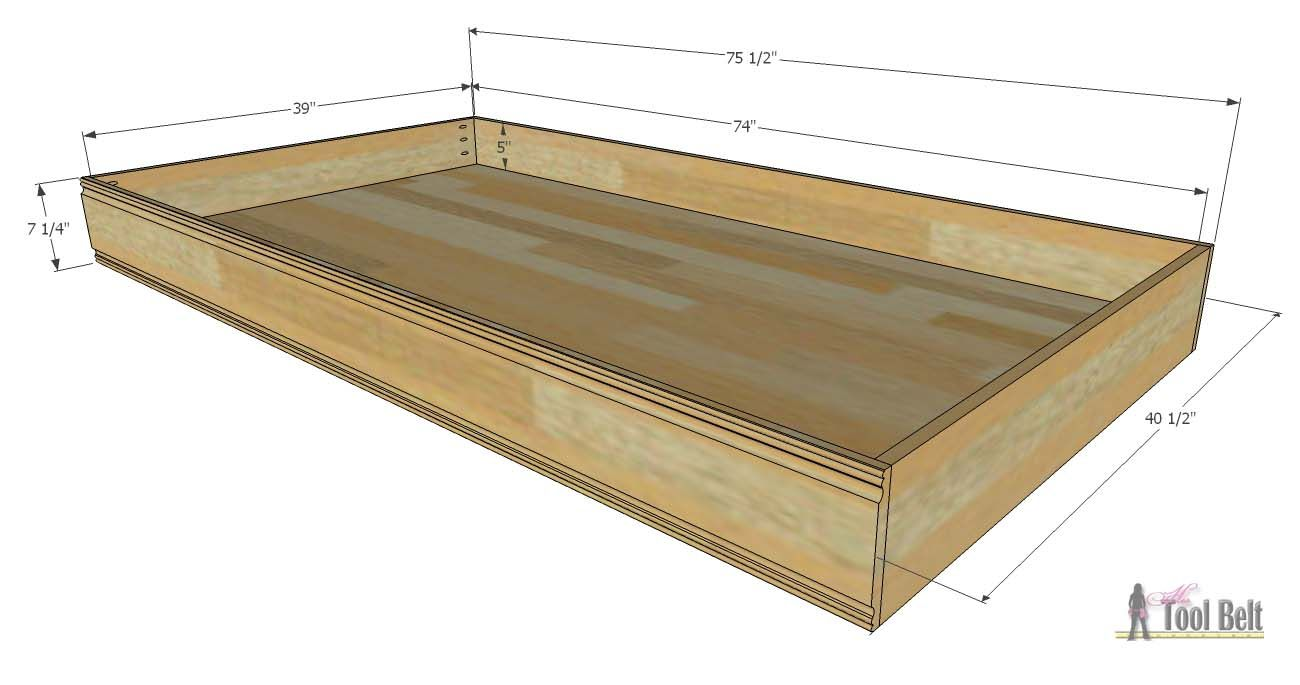 Simple Twin Bed Trundle For The Home Girls Bedroom Pinterest