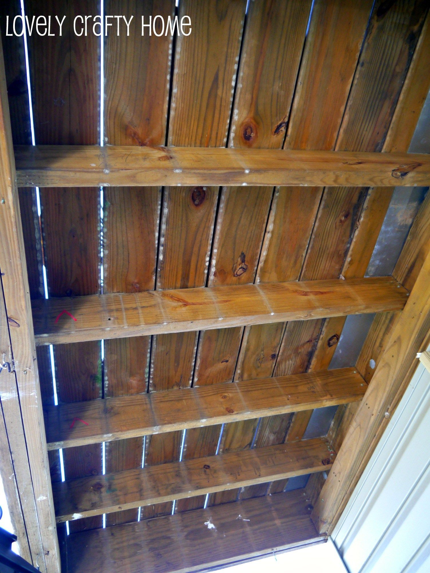 Install A Ceiling Under Your Deck To Drain Water Away And Keep It Dry Under Deck Ceiling Diy Deck Under Decks