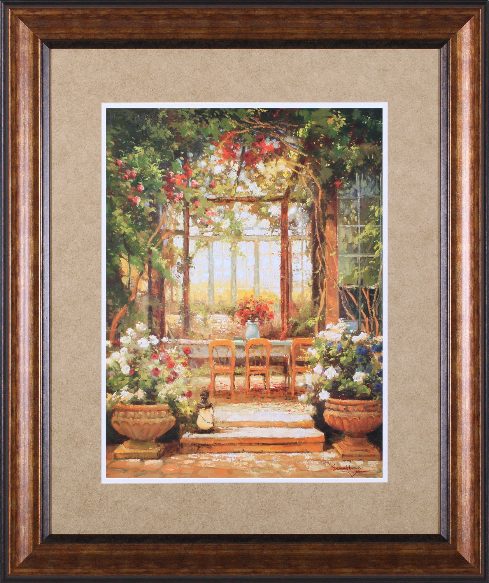 An Inviting Escape by Steven Harvey Framed Painting Print