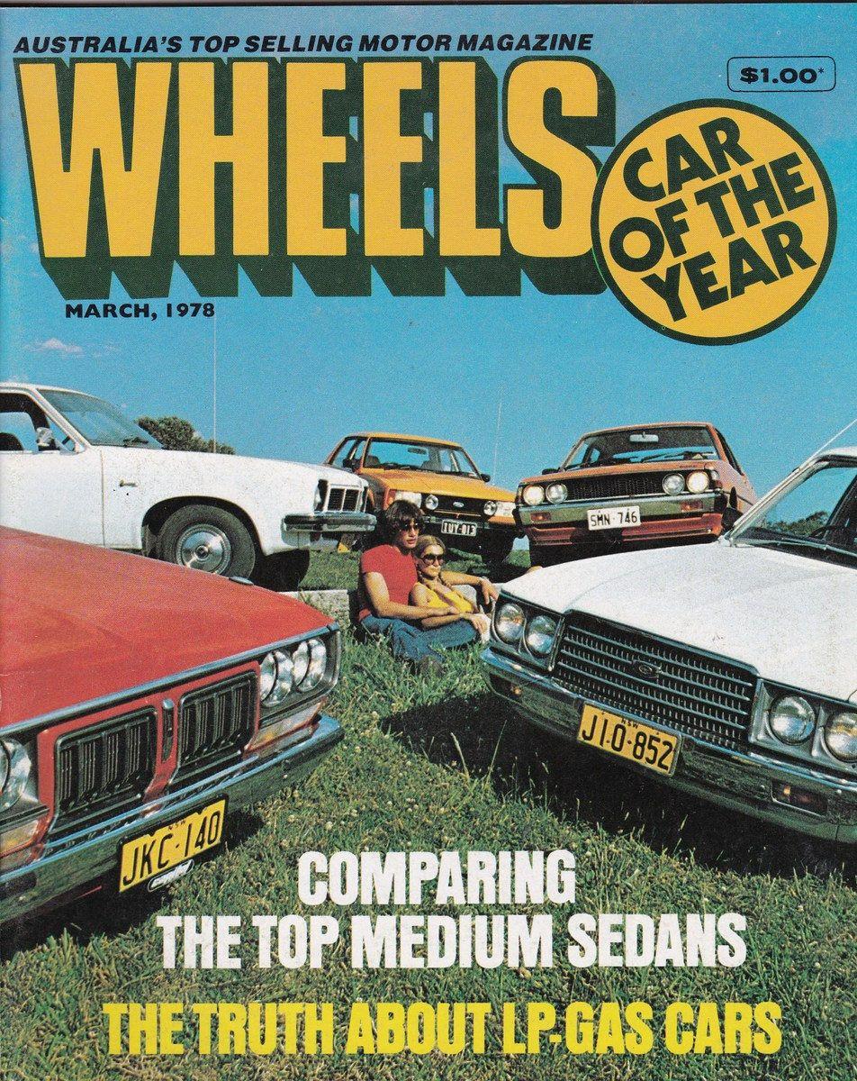 March 1978 Wheels Magazine Anniversary Gift For Him Car Gifts Birthday Idea  Christmas Gift Idea For Man Vintage Magazine Australia