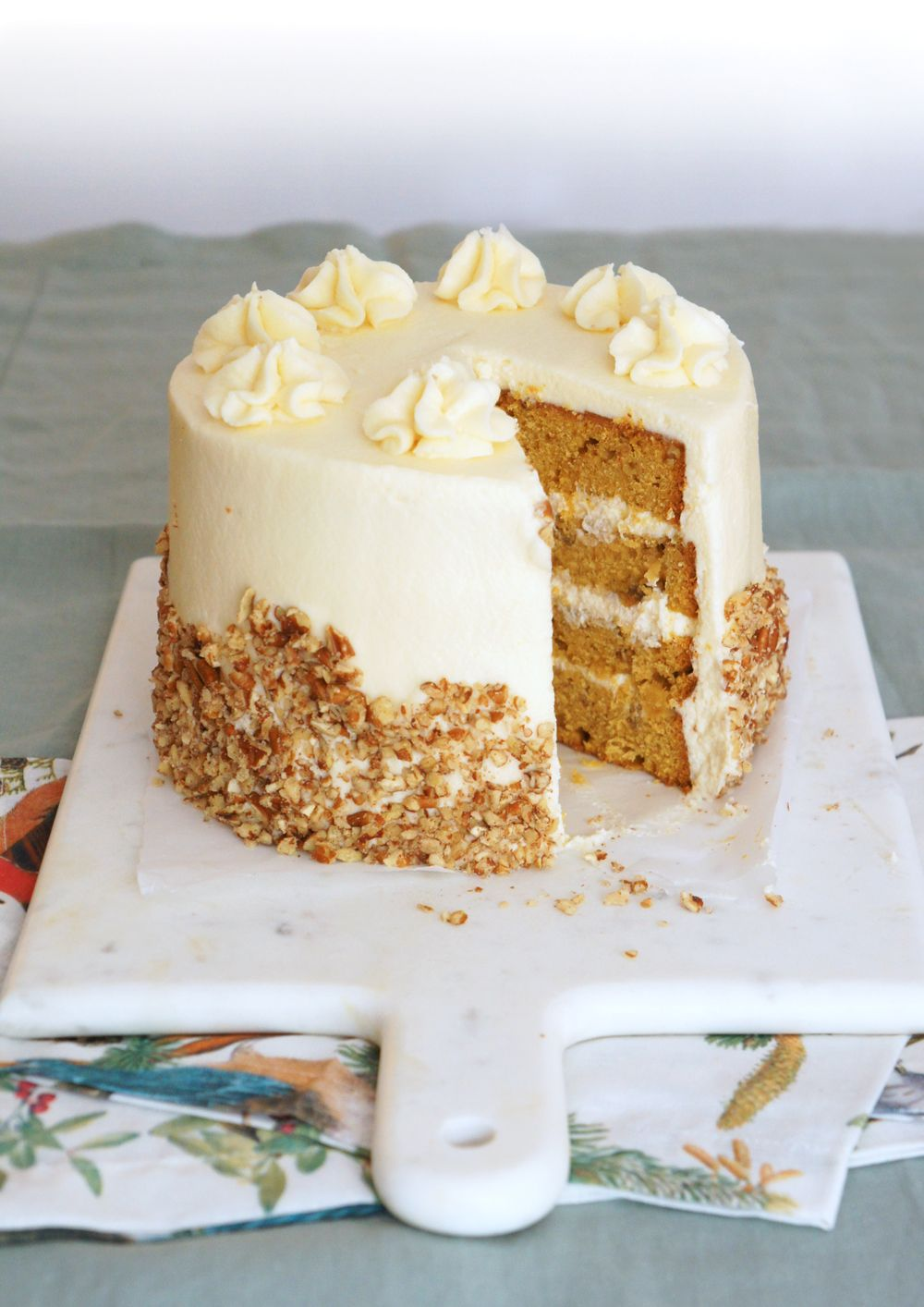 Pottery Barn Pumpkin Spice Coconut Cake Recipe