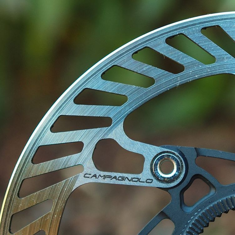 """167 Likes, 31 Comments - James Huang (@angryasian) on Instagram: """"Yep, the day has finally arrived. Campagnolo jumps into the road disc brake market with both feet,…"""""""