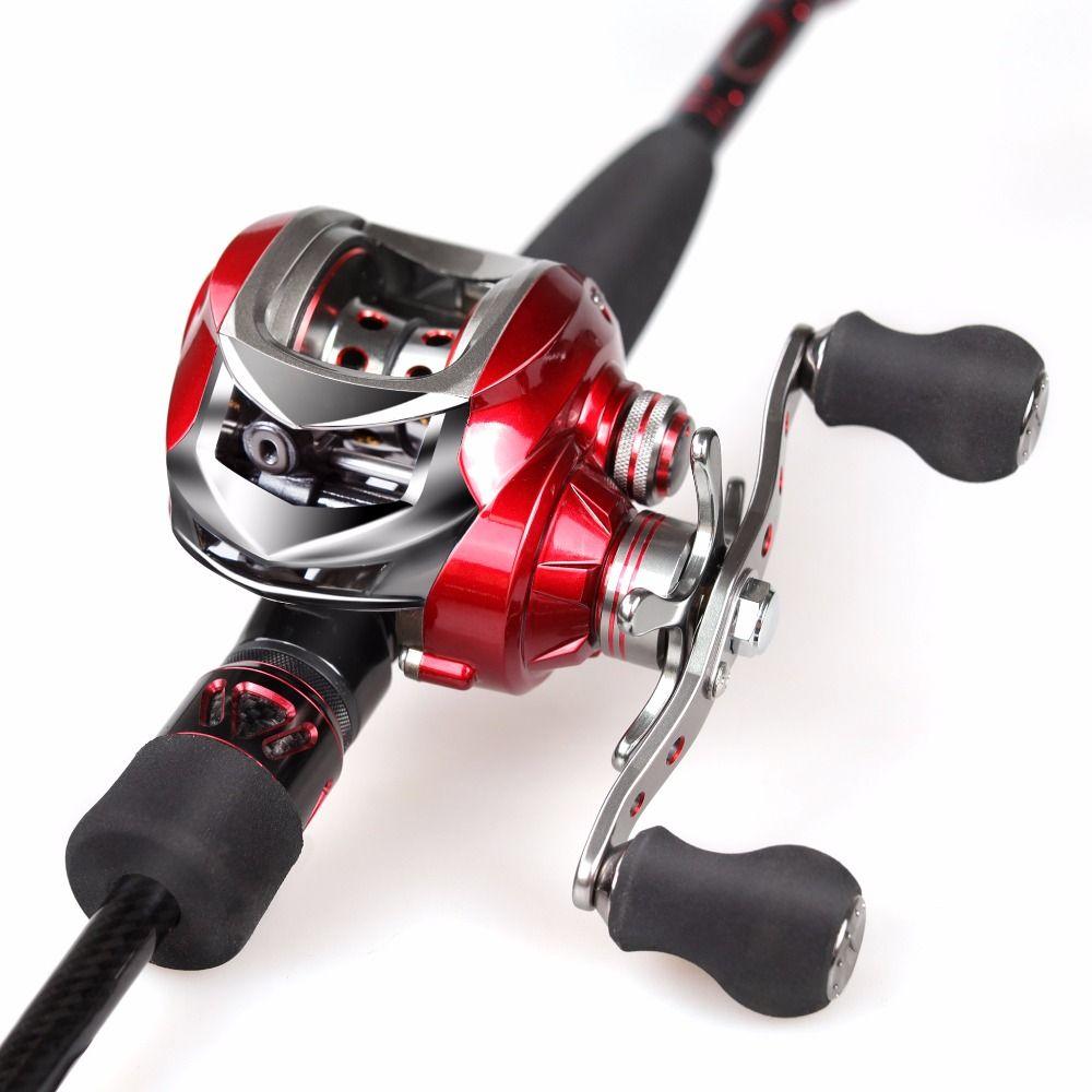 Fishing rod combo 21m 46t carbon rod baitcasting fishing