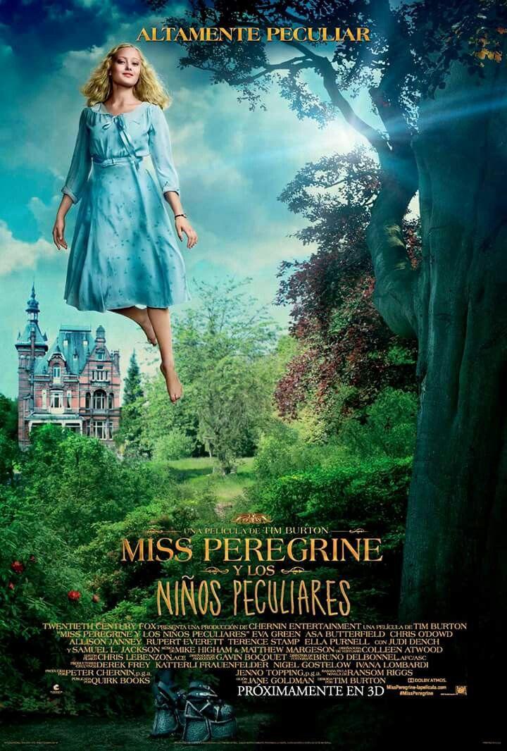 Olivia El Hogar De Miss Peregrine Pata Ninos Peculiares Ninos